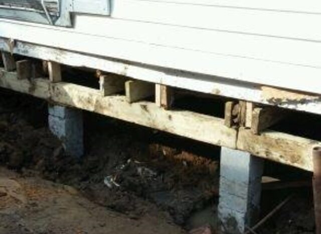 Pier Beam Repair Dallas Historic District Concrete